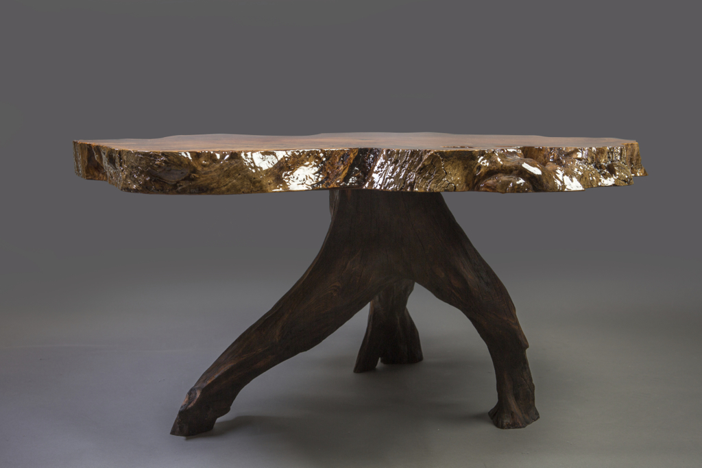 Spalted Maple Slab Table wood solid