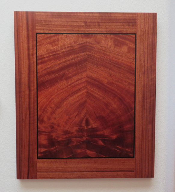 Crotch Mahogany 2pc. Bookmatch veneer, art, art wall panel