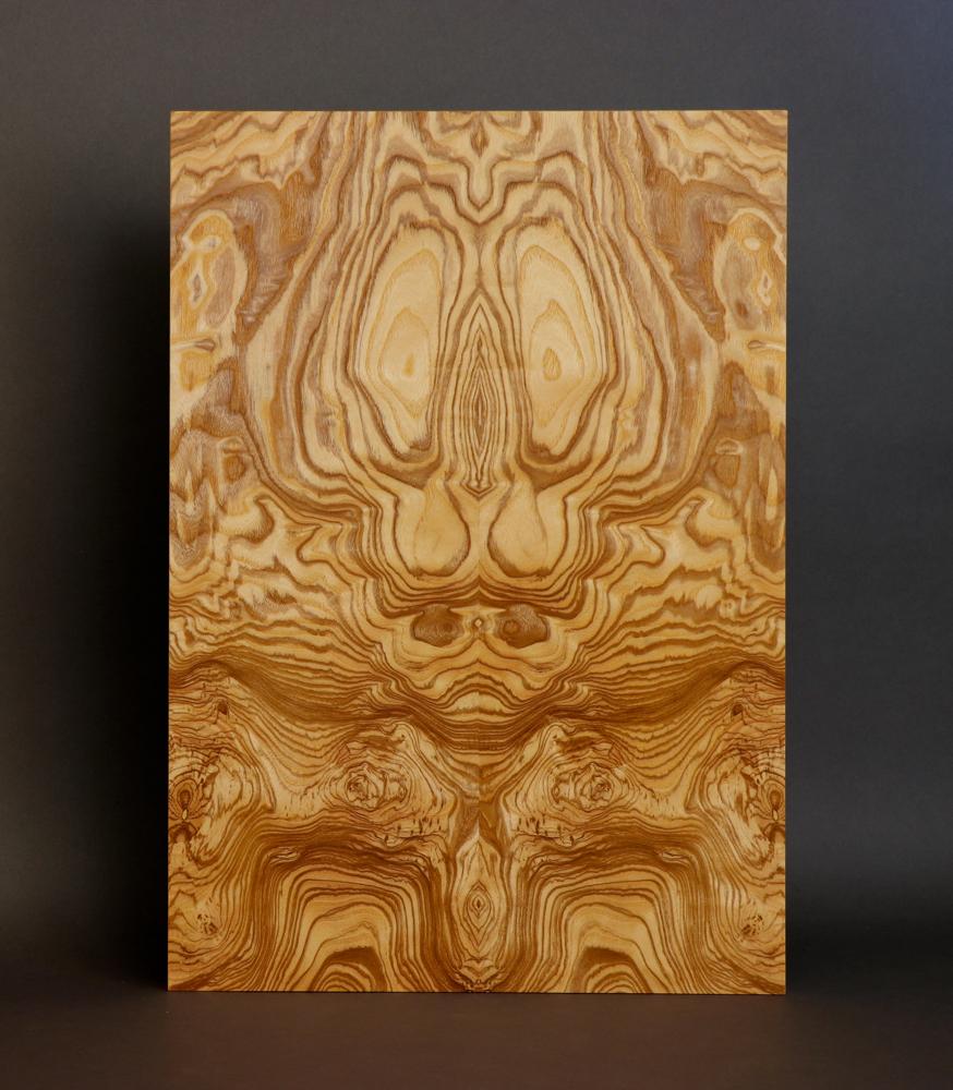 veneer, wood veneered artwork, bespoke, bespoke art, woodworking, custom art, custom art wall panel, fine woodworking, artwork, art wall panel, wood art, wood artwork, luxury art, luxury yacht, fine art, olive ash burl,