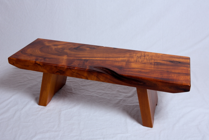 Koa Bench furniture