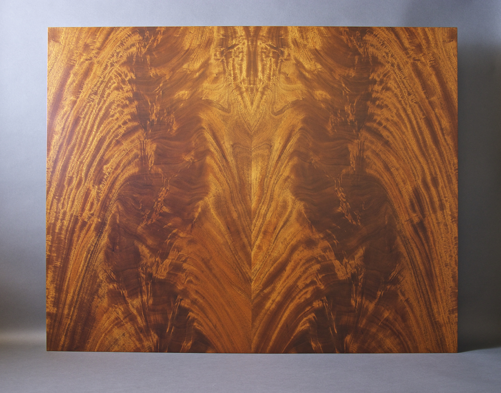 veneer, wood veneered artwork, bespoke, bespoke art, woodworking, custom art, custom art wall panel, fine woodworking, artwork, art wall panel, wood art, wood artwork, luxury art, luxury yacht, fine art, crotch mahogany,